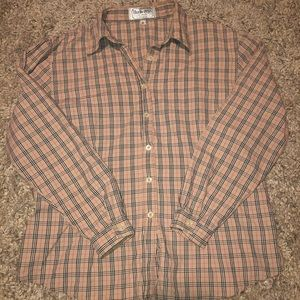 Burberry Vintage Button Up Shirt